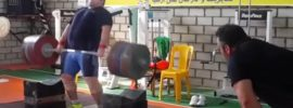 Bahador Moulaei 265kg Block Clean