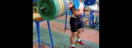 Shen Guowei 200kg Squat Double