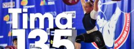 Tima Turieva 135kg Clean and Jerk 2016 Russian Weightlifting Championships