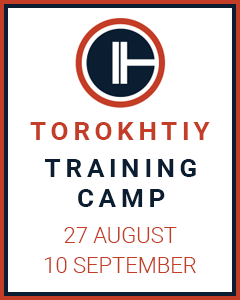 Sign up for the Torokhtiy Training Camp
