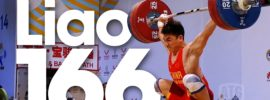 Liao Hui 166kg Snatch World Record