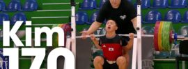 Seunghwan Kim 170kg Squat 2016 Junior World Weightlifting Championships