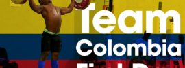 Team Colombia Training Hall 2016 Junior World Weightlifting Championships