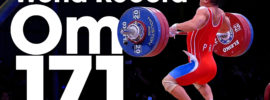 Om Yun Chol 171kg Clean and Jerk World Record + Wu Jingbiao 139kg Snatch WR