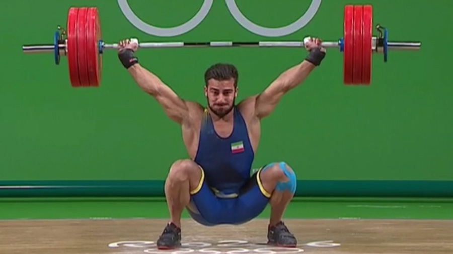 Kianoush Rostami 179kg Snatch 217kg Clean And Jerk 2016