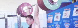 Alexandr Zachikov 251kg Rack Jerk