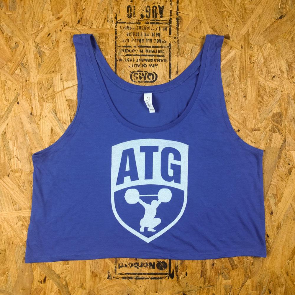 ATG Crop Blue