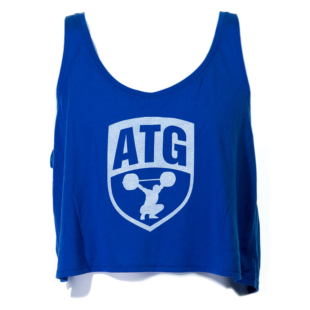 ATG Crop Top Royal Blue