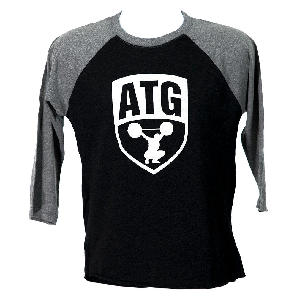 ATG Raglan Black White