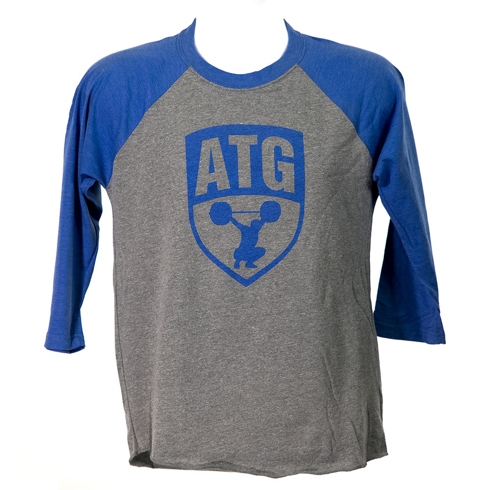 ATG Raglan Grey Blue