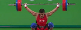 Mohamed Ehab 165kg Snatch 2016 Olympi Games