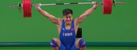 Lu Xiaojun 177kg Snatch World Record 2016 Olympic Games *Super Slowmo!*