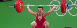 Om Yun Chol 134kg Snatch + 169kg Clean & Jerk 2016 Olympic Games