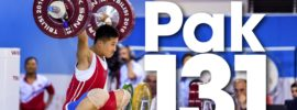Pak Jong Ju 131kg Snatch 2016 Junior Worlds