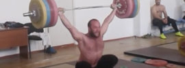 Ruslan Nurudinov 205kg Snatch 250kg Rack Jerk