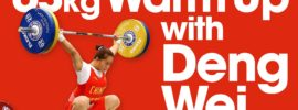63kg Warm Up Area 2015 World Weightlifting Championships