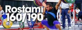 Kianoush Rostami 160kg Snatch + Random Team Iran Clips