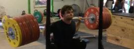 Nathan Damron 300kg Squat *Update* 317kg