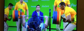 Siamand Rahman 310kg Bench Press 2016 Paralympics