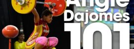Angie Dajomes 101kg Snatch 2016 Youth World Weightlifting Championships