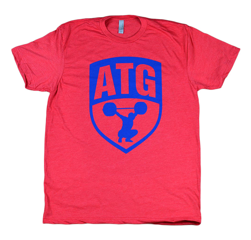 ATG Red Blue Shirt