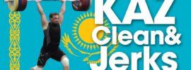 Ilya Ilyin, Vladimir Sedov, Zhassulan Kydyrbaev Clean & Jerks 2014 Worlds Training Hall