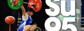 Su Xiaohong 95kg Snatch 2016 Youth World Weightlifting Championships