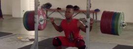 Yeison Lopez 255kg x3 Squat