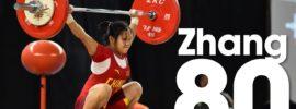 Zhang Jinhong 80kg Snatch 2016 Youth World Championships