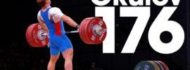 Artem Okulov 176kg Snatch 2015 World Weightlifting Championships