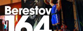 Dmitry Berestov 164kg Power Clean + Strict Press 2016 Klokov Power Weekend