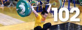 Chen Xiaoting (53kg) 102kg Snatch