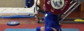 Dmytro Chumak 185kg Snatch