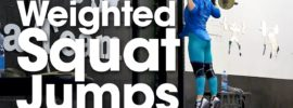 Elena Sukhar Weighted Squat Jumps