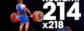 Kianoush Rostami 214kg Clean & Jerk + 218kg Attempt 2015 Worlds