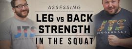 Leg vs Back Strength in the Squat