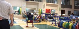 Long Qingquan Training Session + Liu Hao 280kg x5 Squat