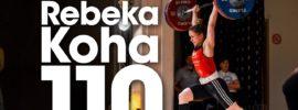 Rebeka Koha 90kg Snatch + 110kg Clean and Jerk Bundesliga Weightlifting