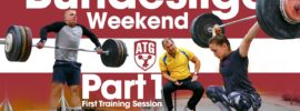 Rebeka Koha & Ritvars Suharevs Bundesliga Weekend Part 1 – First Training Session after Arrival