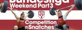Rebeka Koha & Ritvars Suharevs Bundesliga Weekend Part 3 – Competition Snatches + Warm Up