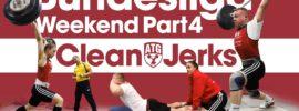 Rebeka Koha & Ritvars Suharevs Bundesliga Weekend Part 4 – Clean & Jerks + Bonus Session