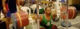 Welisson Rosa da Silva (77kg) 290kg Squat