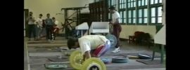 "Ironmind ""Challenge in China"" 1995 Worlds Training Hall Video"