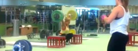 Lydia Valentin 130kg Block Snatch