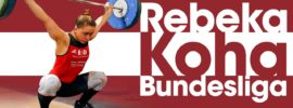 Rebeka Koha Bundesliga Full Session 92kg Snatch + 109kg Clean & Jerk