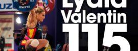 Lydia Valentin 115kg Snatch + 137kg Clean & Jerk 2017 European Champion