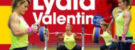 Lydia Valentin Training Hall 2017 Europeans: Power Cleans, Power Snatches, Back Squats