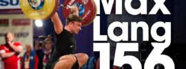 Max Lang 156kg Snatch PR 2017 European Weightlifting Championships