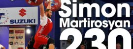 Simon Martirosyan 230kg Clean & Jerk 2017 European Championships