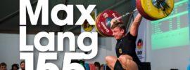 Max Lang 155kg Snatch 2017 Meissen Cup